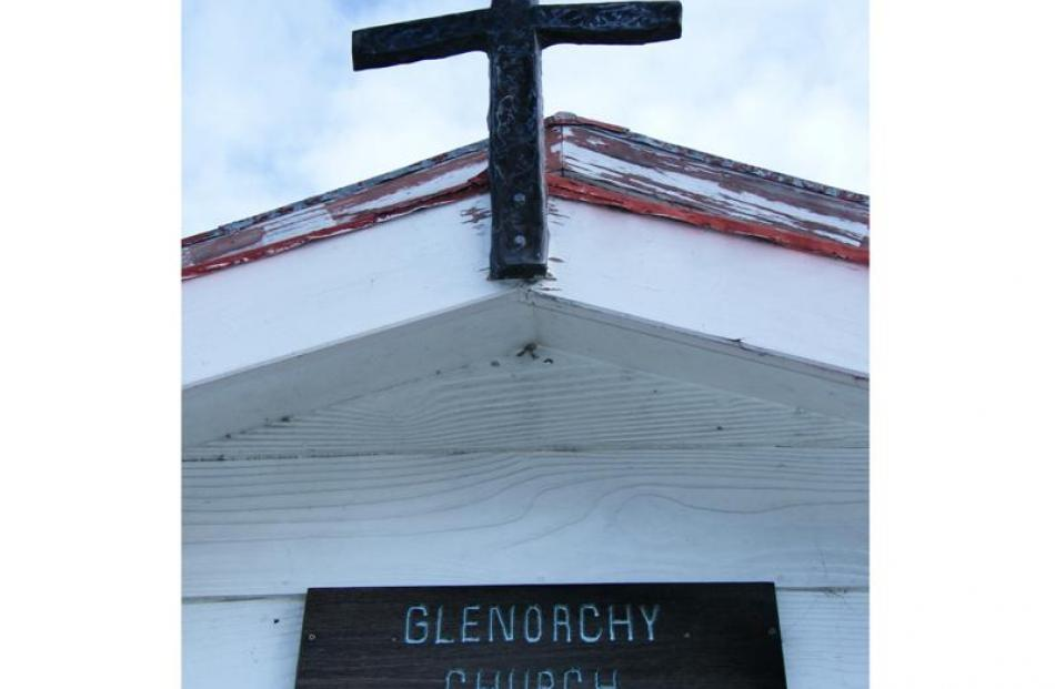 The historic Head of the Lake Community Church was built by the Valpy family on their land off...