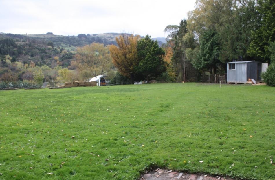 The Northeast Valley Community Garden site in 2011. Photos supplied/Gillian Vine