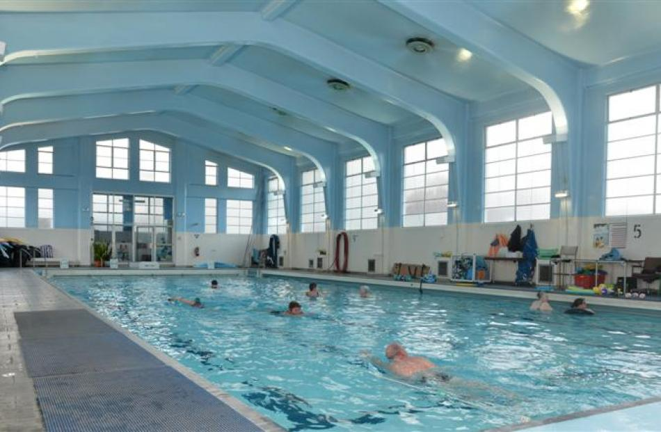 The Otago Therapeutic Pool. Photos by Peter McIntosh.