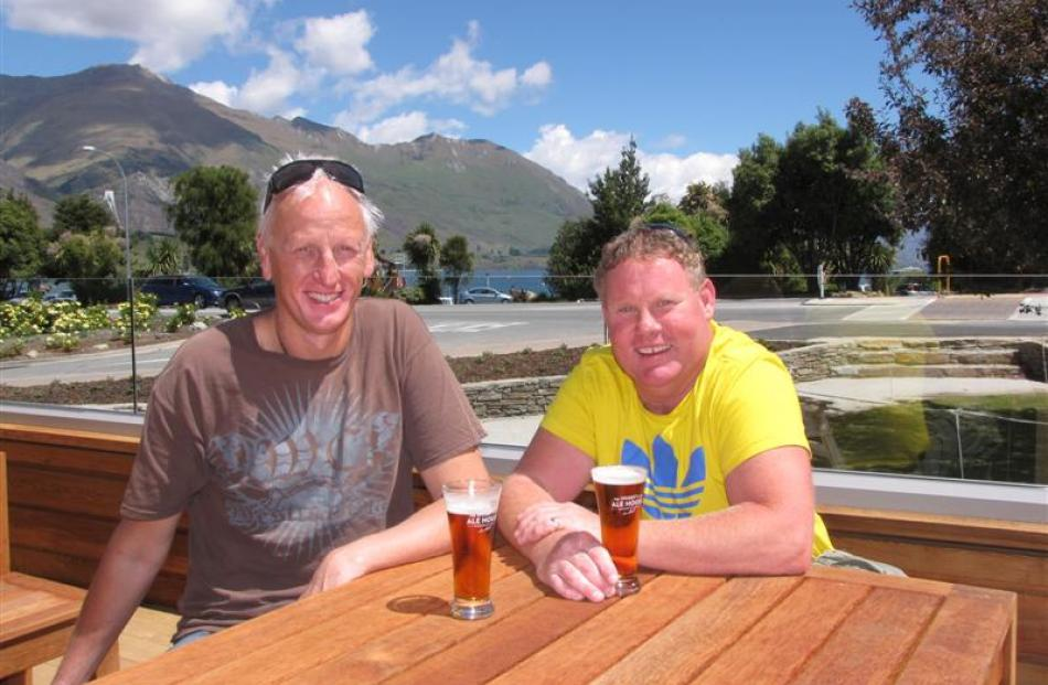 The owners of the new Speight's Ale House, which opens today in Wanaka's new lakefront commercial...
