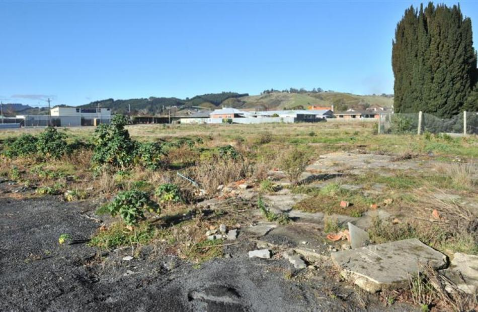 The proposed Countdown site in Mosgiel. Photo by ODT.