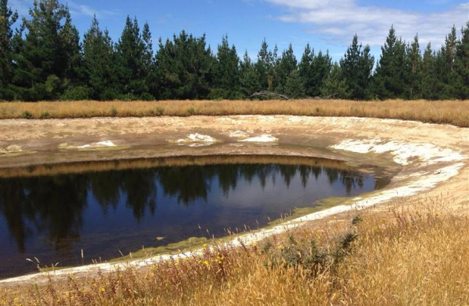 The reservoir on the North Bruce rural water scheme is critically low, and authorities fear a...