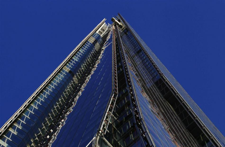 The Shard, western Europe's tallest building, has opened to the public.  REUTERS/Luke Macgregor