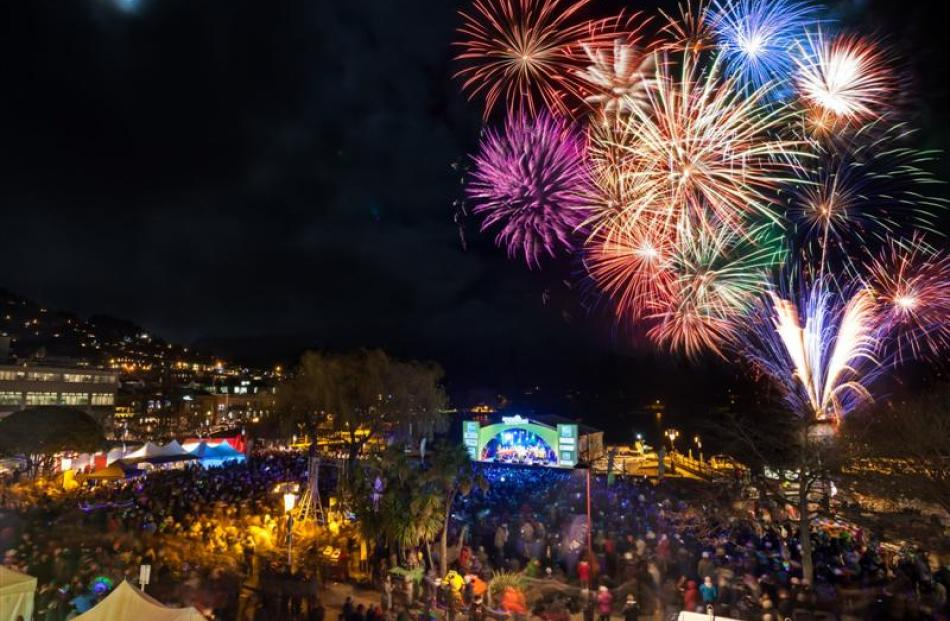 The sights, sounds and experience of Queenstown Winter Festival, including  fireworks,  charity...