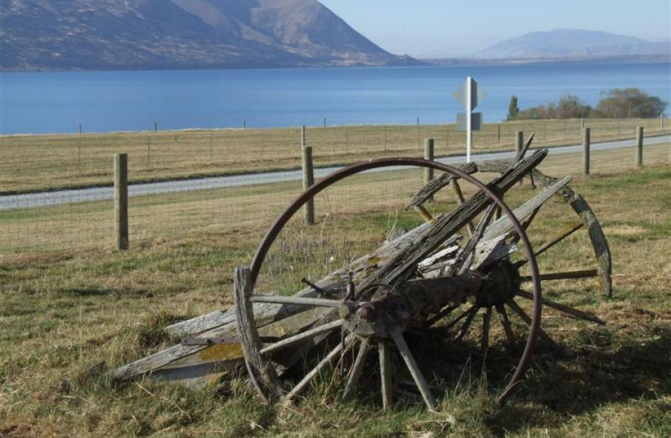 The station is in a scenic location beside Lake Ohau. Photos by Sally Rae.