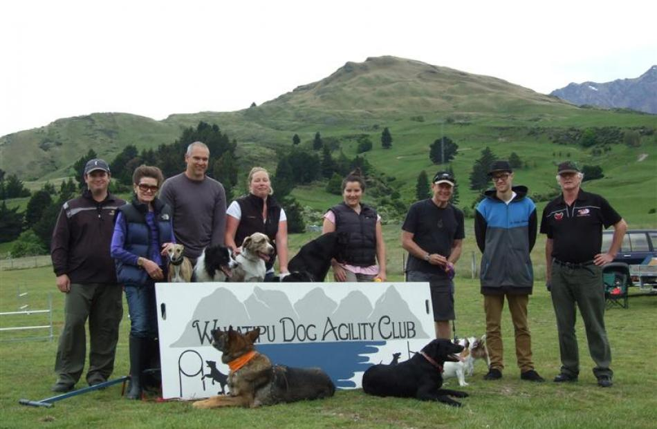 The Wakatipu Dog Agility Club. Photo by Christina McDonald.