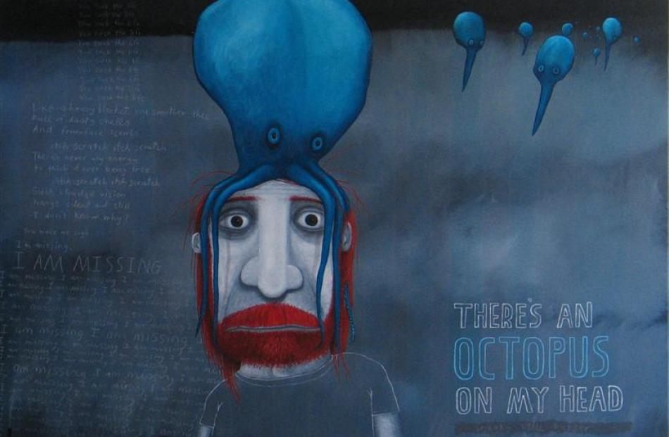 There's an Octopus on my Head, by Tony Cribb. Photos supplied.