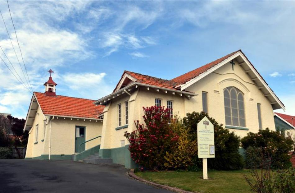 Times have changed for St Michael's Church in  Andersons Bay. Photos by Peter McIntosh.