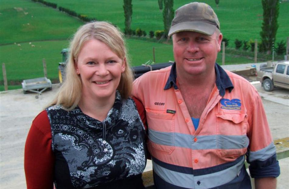 Tracey and Geoff Scurr, of East Otago-based Geoff Scurr Contracting, have marked 25 years in...