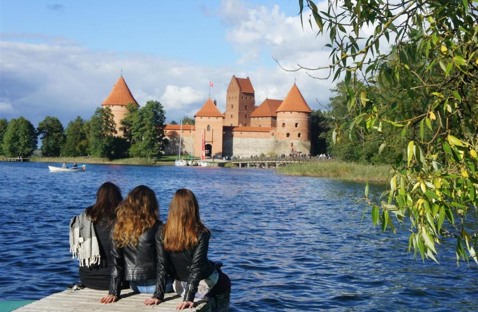 Trakai Fortress, the summer residence of the Lithuanian Grand Duchy, is an island fortress...