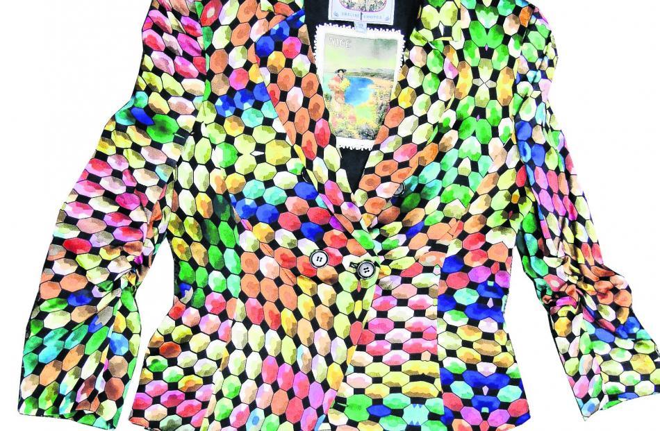 Trelise Cooper Test Pattern jacket at Arthur Barnett.