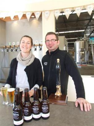 Tyla and Phil Scott, from Scotts Brewing Company in Oamaru, see a bright future for New Zealand's...