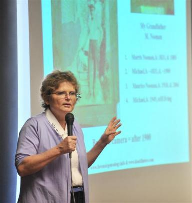 United States forensic genealogist Colleen Fitzpatrick discusses how to learn more from old...