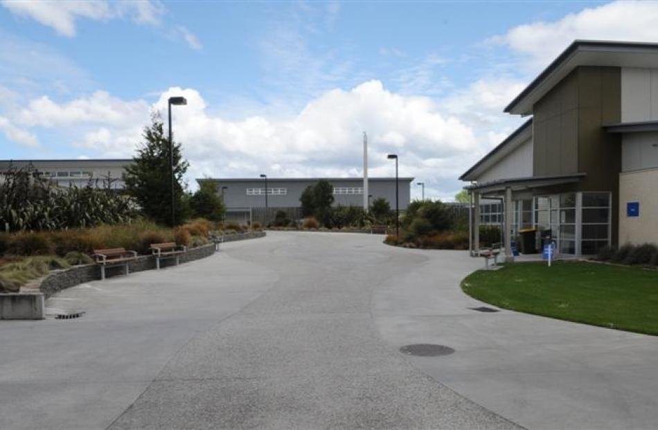 Unlike traditional prisons, the Otago Corrections Facility at Milburn has separate buildings set...