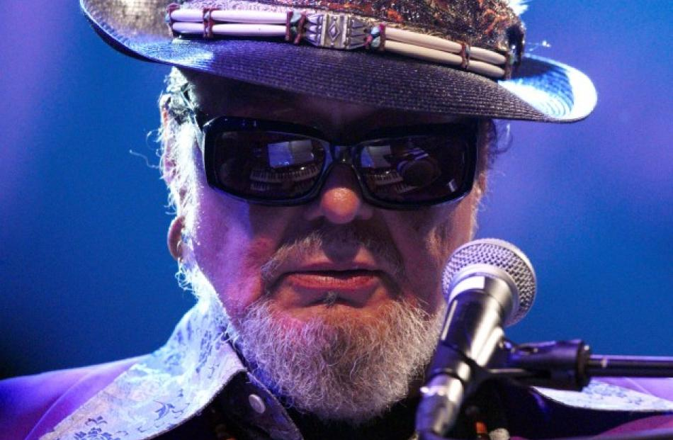 US musician Dr. John performs with his band at the 46th Montreux Jazz Festival in Switzerland....
