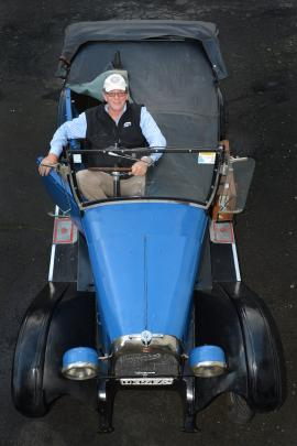 Vintage car enthusiast Keith Moore has restored this 1927 soft-top Willys Overland Whippet tourer...