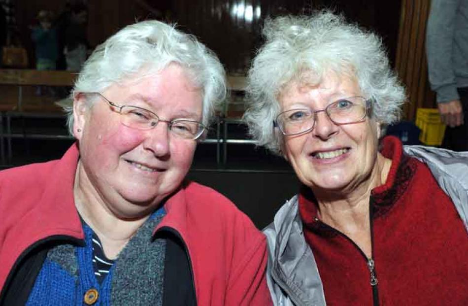 Vivien Dwyer and Suzanne Mitchell, of Dunedin.