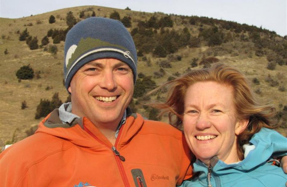 Wanaka adventurer Mal Haskins and his partner Sophie Ward, who depart for the Himalayas today to...