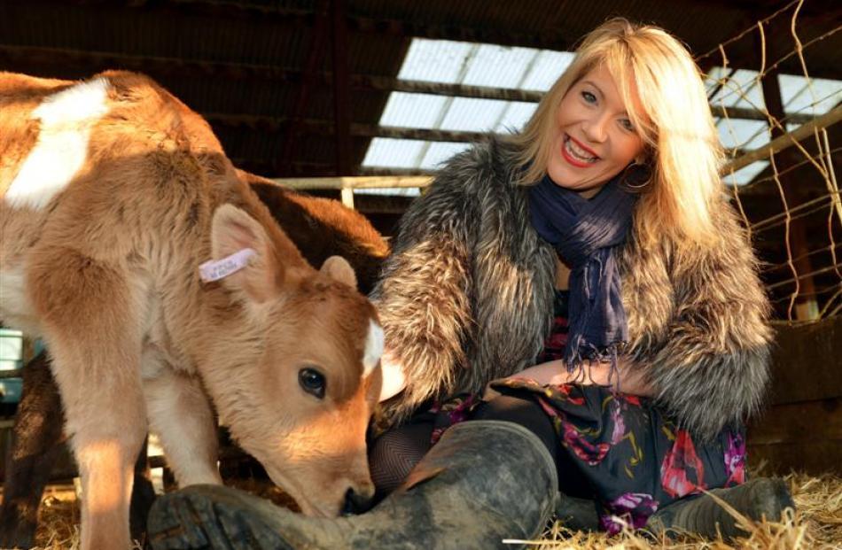 West Otago dairy farmer Chanelle Purser balances farming duties with running a retail business in...