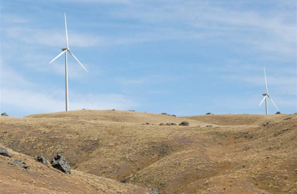 What the Project Hayes wind farm may have looked like. Image supplied.