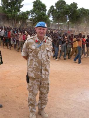 While in Baidoa I became aware of a training camp for Somali forces close by, which I visited....