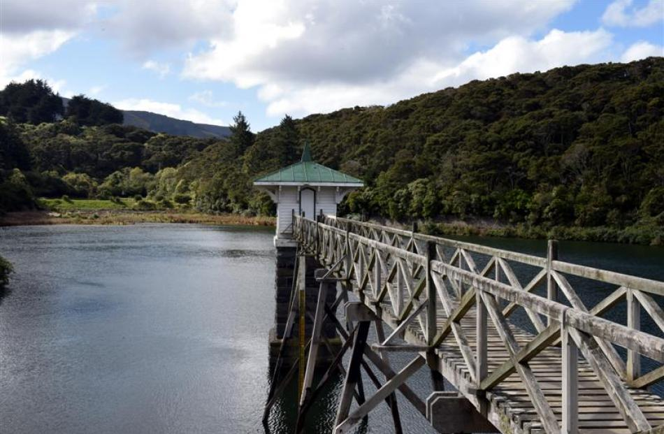 Work to refurbish Dunedin's Ross Creek Reservoir earth dam is set to expand. Photo by Gregor...
