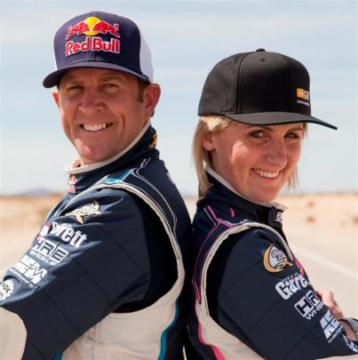 World champion drift driver Rhys Millen has teamed up with Dunedin's Emma Gilmour, who is about...