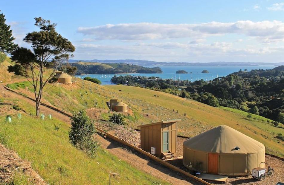 A yurt. Photo supplied.