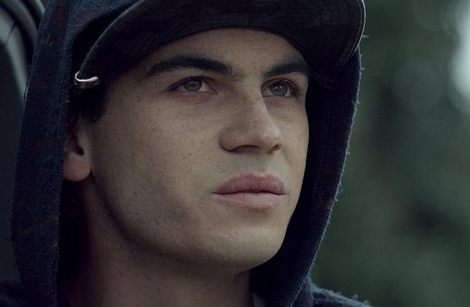 Jesse-James Rehu Pickery in a scene from the New Zealand film Orphans & Kingdoms. Photos supplied.