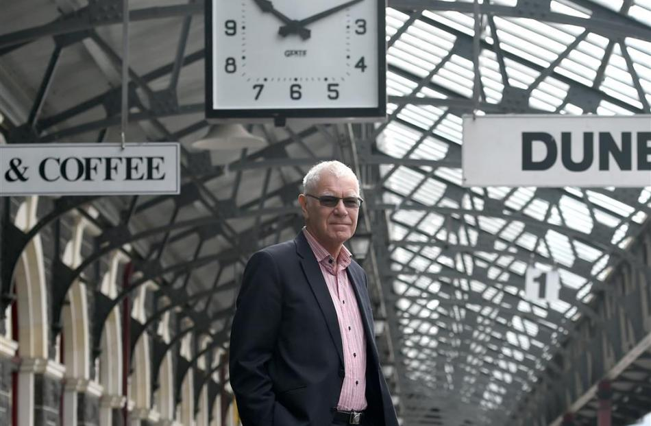 Senior entrepreneur Geoff Pearman. Photo by Gregor Richardson.