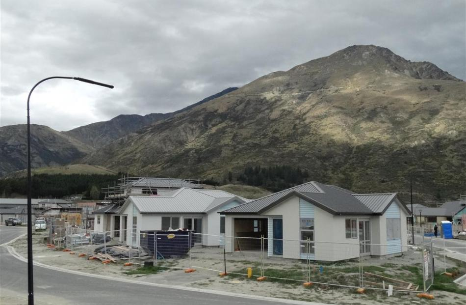 These Community Housing Trust homes in Queenstown's Shotover Country have sold for between $445...