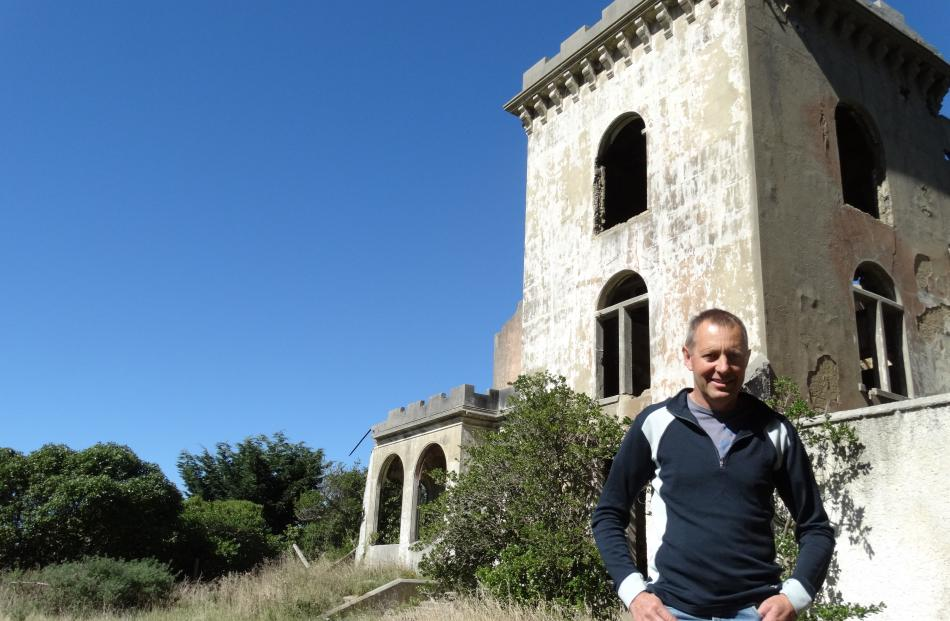 Worth saving ...  Preserving and developing the extraordinary ruin of Cargill's Castle is a...