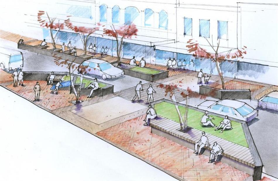 A design for the proposed inner city refurbishment. Image supplied.
