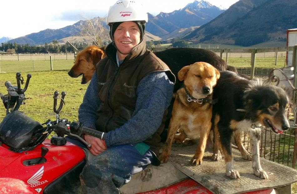 Federated Farmers Otago president Phill Hunt. Photo by ODT.