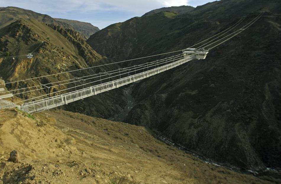 What AJ Hackett's new Nevis Swing bungy will look like. Image supplied.