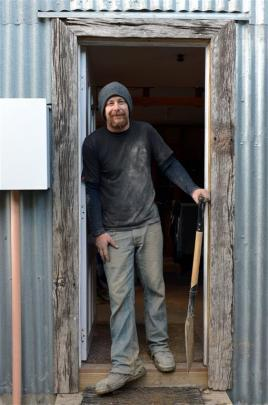Andy Armstrong says home renovators need to be more aware of the risks posed by asbestos. Photo...
