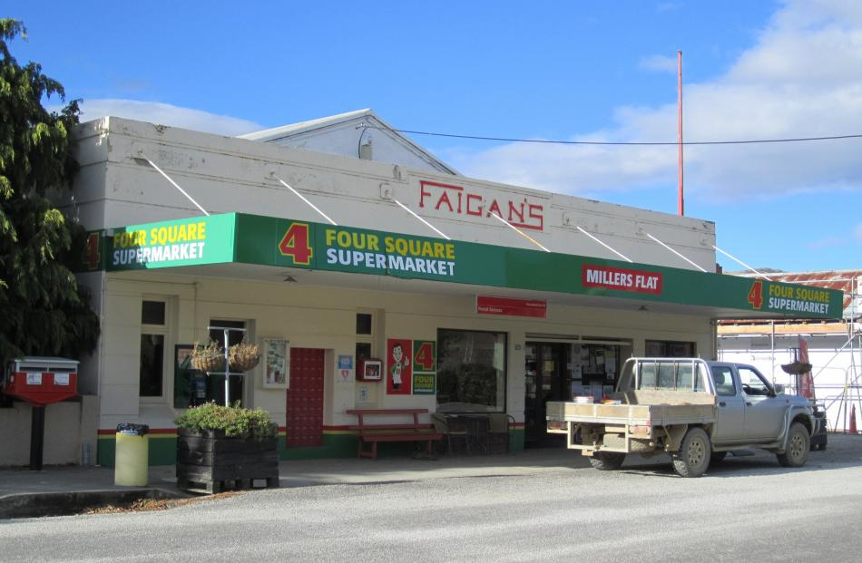 Faigan's Store closed on May 28. Photo by staff photographer.