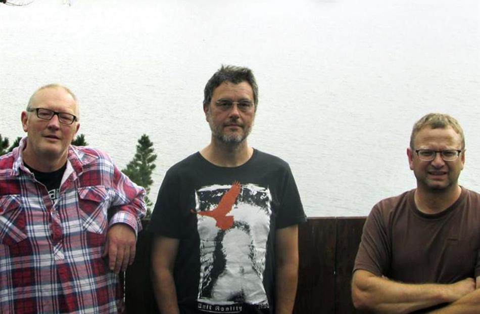 Seafog is (from left) Nigel Waters, Martyn Sadler and Rob Sharma. Photo supplied.