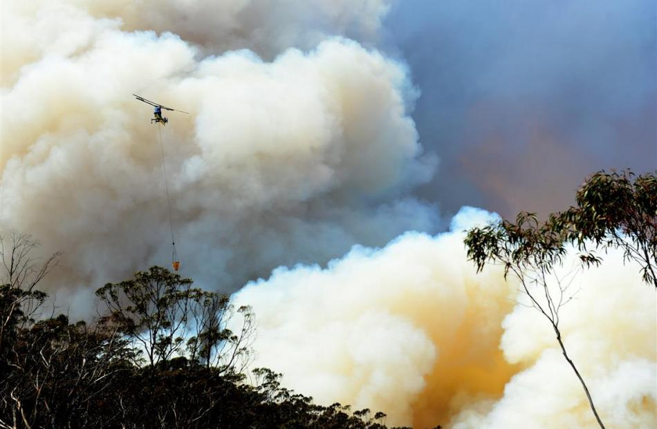 Wildfires in Australia mean Prof Corey Bradshaw's daughter knows the pot is on the boil. Photo by...