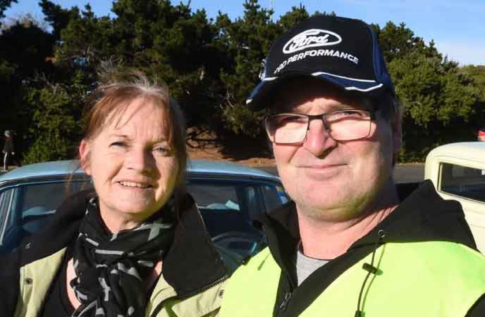 Cecilia Sullivan-Grant and Ashley Boorer, both of Dunedin.