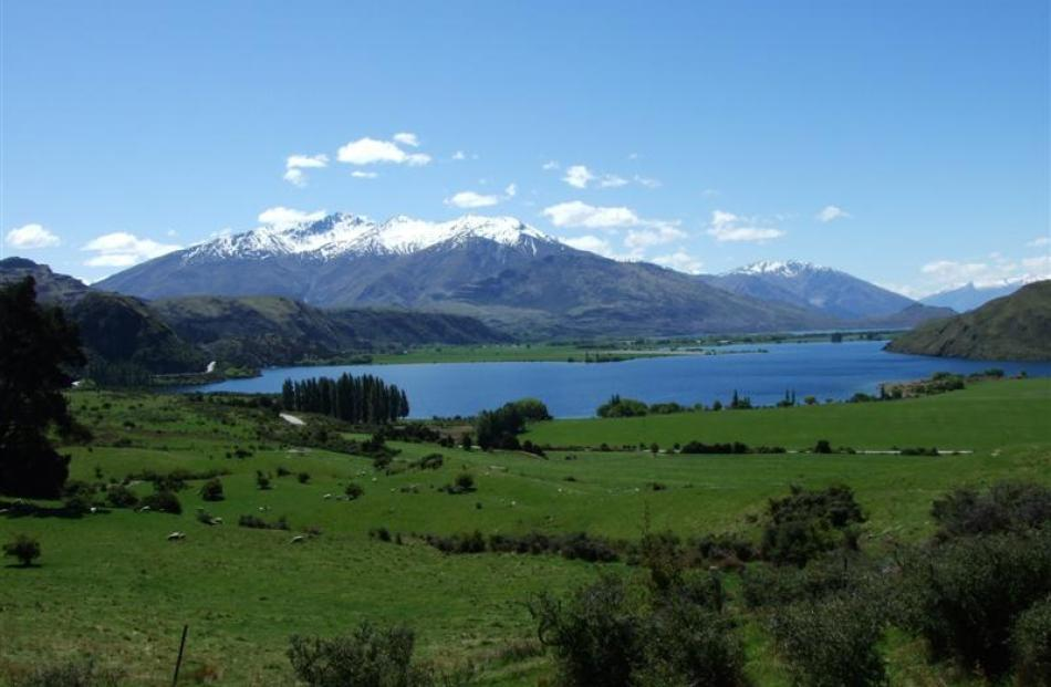 Parkins Bay, near Wanaka,  is the setting for a multimillion-dollar golf resort which has been on...