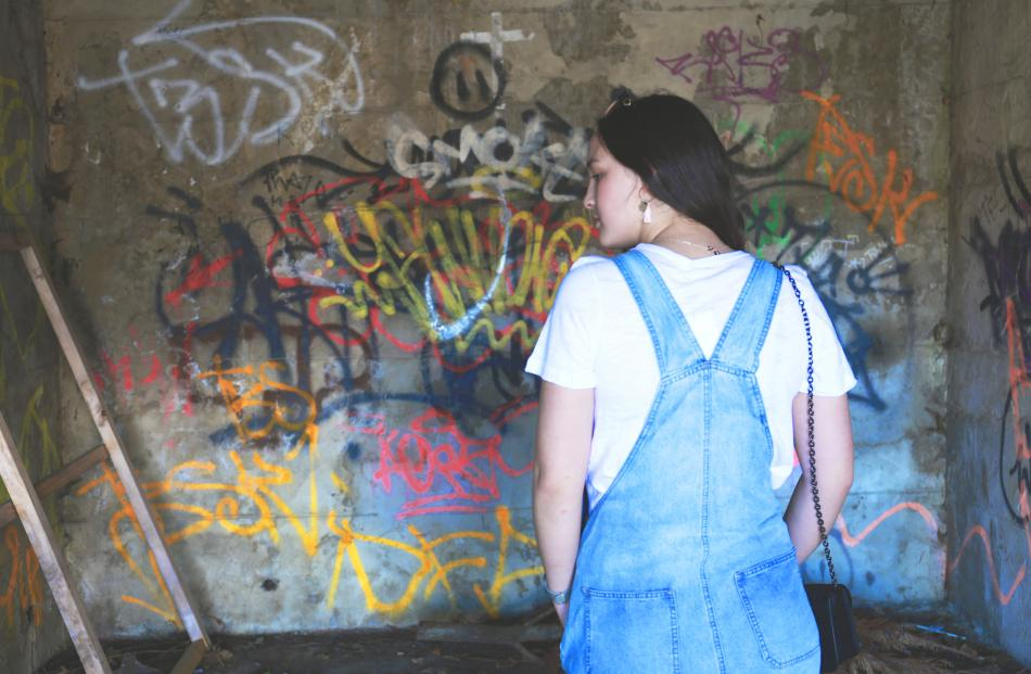 In this shoot Gracie wears: Dungaree's $49.95 @ Cotton On, t-shirt $14. 95 @ Factorie, handbag ...