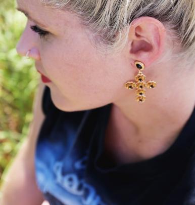 Cross earings $19.99 from Lovisa