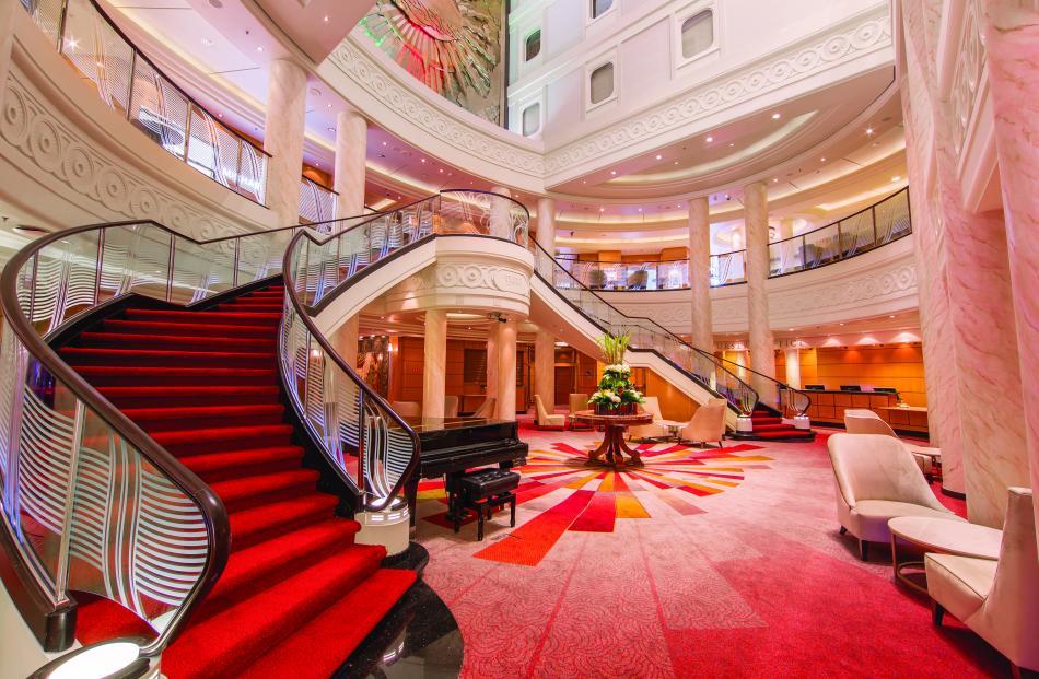 luxury cruise visits dunedin just a little bit superior otago