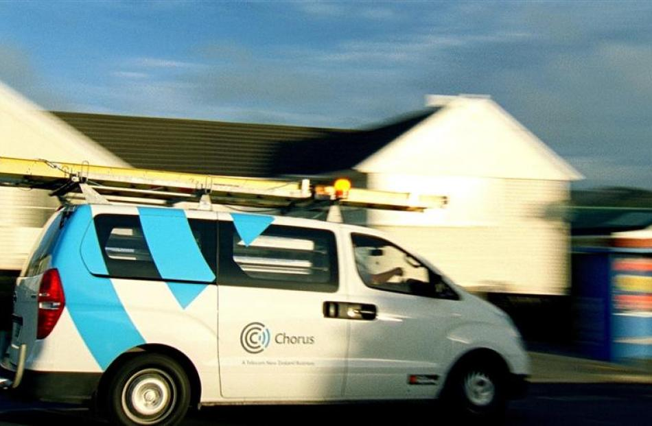 Chorus is singing a happy tune as it will be able to offer some customers a free optical-fibre...