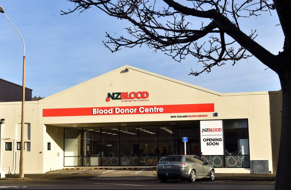 The new Dunedin Blood Donor Centre premises