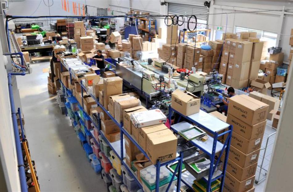 Inside the Tuapeka Gold Print factory at Fairfield.
