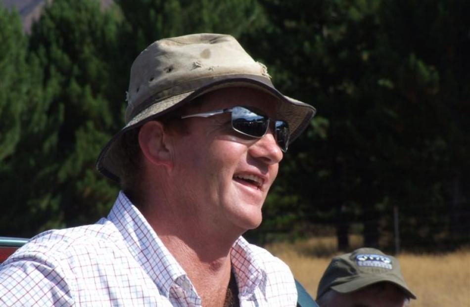 North Otago Federated Farmers high country chairman Simon Williamson.