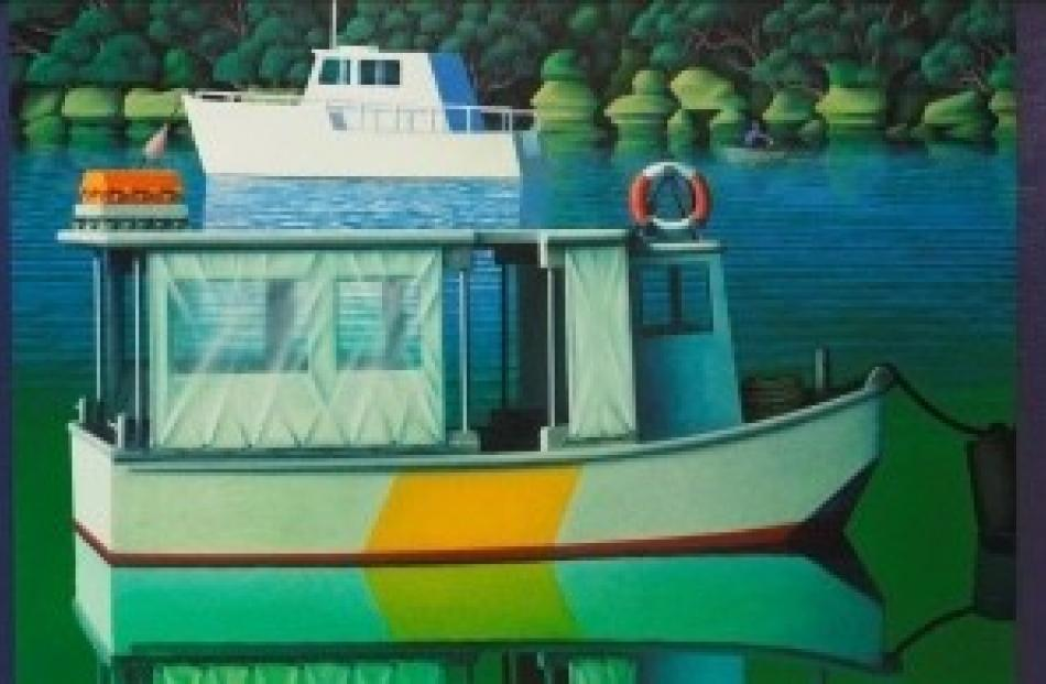 Michael Smither - Old Ferry Boat