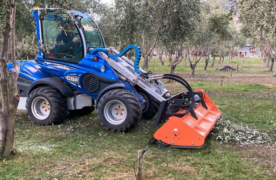 The mechanised way at Dunford Grove near Cromwell. PHOTOS: MARY-JO TOHILL